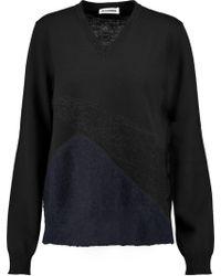 Jil Sander - Wool-blend Sweater - Lyst