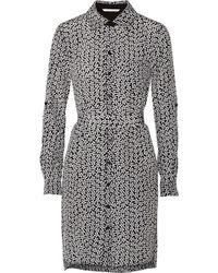 Diane von Furstenberg - Prita Silk-crepe Dress - Lyst