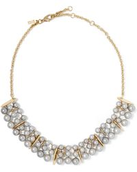 Alexis Bittar - Gold-tone Faux Pearl Necklace - Lyst