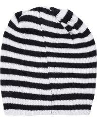 Marc By Marc Jacobs - Striped Merino Wool Beanie - Lyst