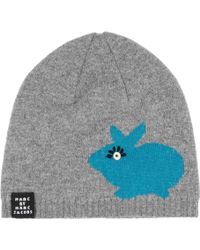 Marc By Marc Jacobs - Don't Sweat My Pet Merino Wool Beanie - Lyst