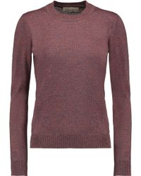 Merchant Archive - Pierrot Mélange Wool Sweater - Lyst