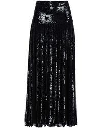 Temperley London - Sequin-embellished Organza Maxi Skirt - Lyst