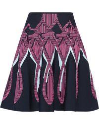 Peter Pilotto - Jacquard-knit Skirt - Lyst