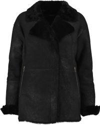 J Brand | Wren Shearling Coat | Lyst