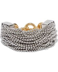 Alexander Wang - Silver And Gold-tone Bracelet - Lyst