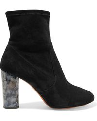 Carven - Suede Ankle Boots - Lyst