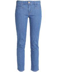 M.i.h Jeans - Slim Leg Mid Denim - Lyst