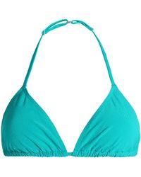 Orlebar Brown - Jacquard Triangle Bikini Top - Lyst