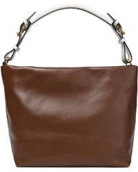 Marni - Two-tone Leather Shoulder Bag - Lyst