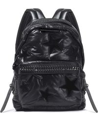 Stella McCartney - Faux Leather-trimmed Padded Shell Backpack - Lyst