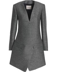 Lanvin - Mélange Wool And Silk-blend Blazer - Lyst