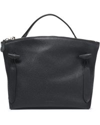 Jil Sander - Pebbled-leather Tote - Lyst
