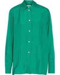 Lemaire - Silk-satin Shirt - Lyst