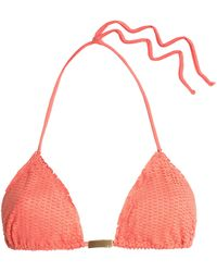 ViX - Nobu Laser-cut Triangle Bikini Top - Lyst