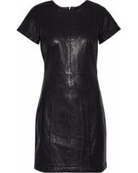 Muubaa - Leather Mini Dress - Lyst