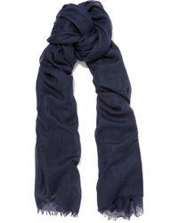 Equipment - Kayden Cashmere And Silk-blend Scarf - Lyst