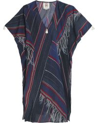 Figue - Printed Cotton-blend Kaftan - Lyst