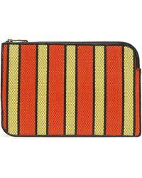 Diane von Furstenberg - Striped Woven Wallet - Lyst