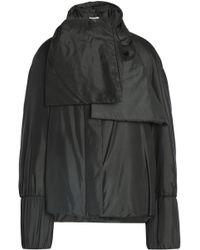 Jil Sander - Silk Jacket Dark Green - Lyst