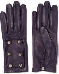 Causse Gantier - Ion Embellished Leather Gloves - Lyst