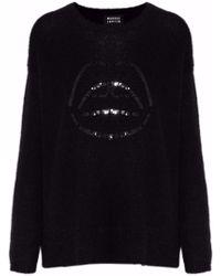 Markus Lupfer - Freida Sequin-embellished Alpaca-blend Sweater - Lyst