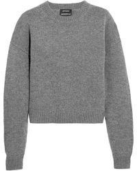 Anthony Vaccarello | Wool And Cashmere-blend Sweater | Lyst