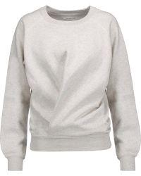 Étoile Isabel Marant - Belden Marled Cotton-blend Jersey Sweatshirt - Lyst