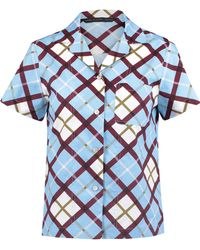 Marc By Marc Jacobs - Checked Cotton-poplin Shirt - Lyst