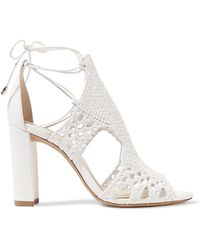 Alexandre Birman - Woven Leather Sandals - Lyst