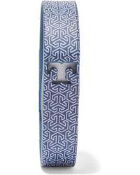 Tory Burch - +fitbit Flex Printed Rubber Bracelet - Lyst