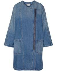 Current/Elliott - Faded Denim Dress - Lyst