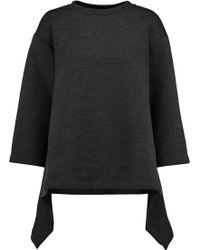Marni - Fluted Wool-blend Sweatshirt - Lyst