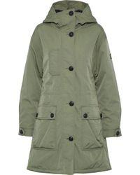Belstaff - Twill Hooded Coat - Lyst