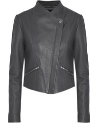 VEDA - Jamie Leather Jacket - Lyst