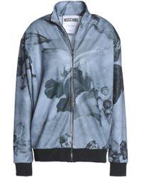 Moschino - Printed Jersey Jacket - Lyst