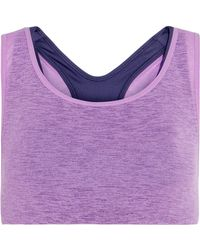 Nike - Lab Essentials Layered Stretch-jersey Sports Bra - Lyst