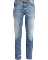 Alexander Wang - Faded Mid-rise Slim-leg Jeans - Lyst