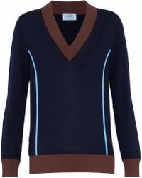 Prada - Wool-blend Sweater - Lyst