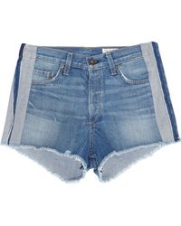 Rag & Bone - Marilyn Denim Shorts - Lyst