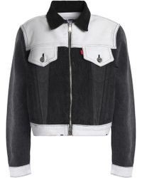 Levi's - Two-tone Denim Jacket - Lyst
