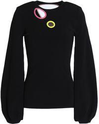 ROKSANDA - Cutout Stretch-knit Sweater - Lyst