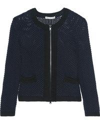 Autumn Cashmere - Open-knit Cotton Jacket - Lyst
