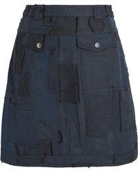 Carven - Jacquard Mini Skirt - Lyst