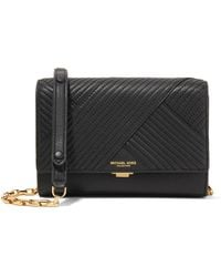 Michael Kors - Yasmeen Small Quilted Leather Shoulder Bag - Lyst