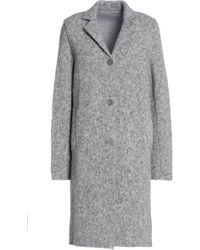 Majestic Filatures - Mélange Knitted Alpaca-blend Coat - Lyst