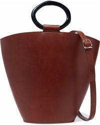 STAUD - Seberg Leather Shoulder Bag - Lyst