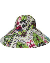 Just Cavalli - Cappello Pamela Printed Twill Hat - Lyst