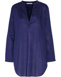 Yummie By Heather Thomson - Cotton-broadcloth Nightshirt - Lyst