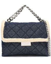 Stella McCartney - Tote Bag Dark Denim - Lyst